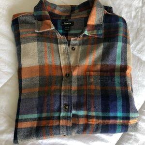 Roots Men's plaid flannel